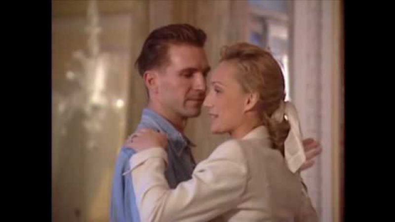 Ralph Fiennes Kristin Scott Thomas Dancing English Patient