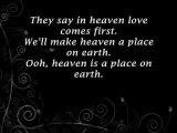 Belinda Carlisle - Heaven Is a Place on Earth Lyrics