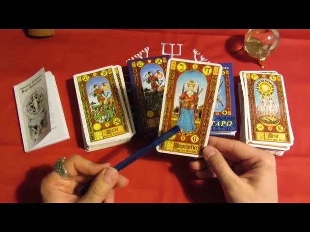 Обзор профессиональной колоды карт Таро Золотые ступени