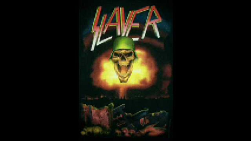 Slayer - Spill the blood demo with Jeff Hanneman on vocals