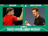 Andy Murray vs David Goffin Highlights
