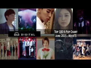 Top 100 K-Pop Songs for June 2015 Week 3
