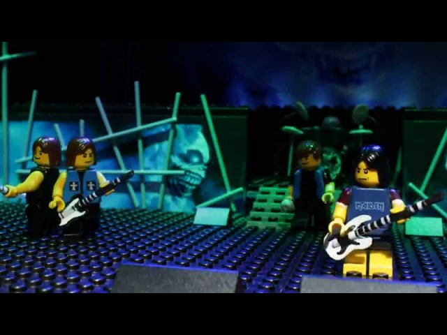 IRON MAIDEN ROCK IN LEGO
