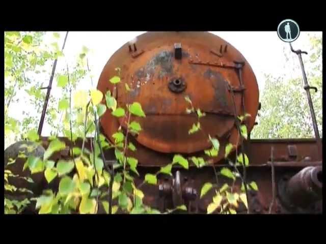 Россия из окна поезда Мертвая дорога