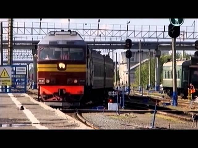 Россия из окна поезда Нефтяные поля