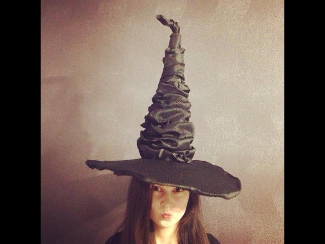 Как сделать шляпу Гарри Поттера Мастер класс Aida Handmade