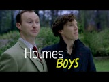 Holmes boys  Sherlock BBC