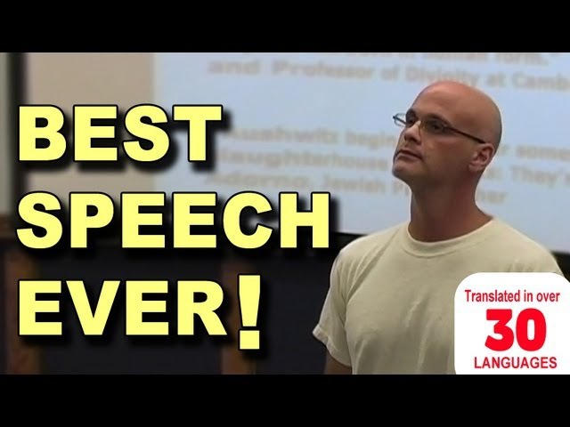Best Speech You Will Ever Hear Gary Yourofsky