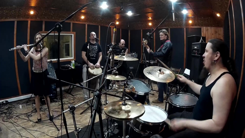 КОРНИ ОЗЁР - Не слушай ворона(видео с репетиции, май 2015 г.)