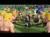 Маг в атаке)))) Clash of Clans