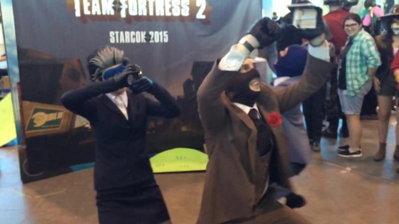Spycrabs on Starcon 2015