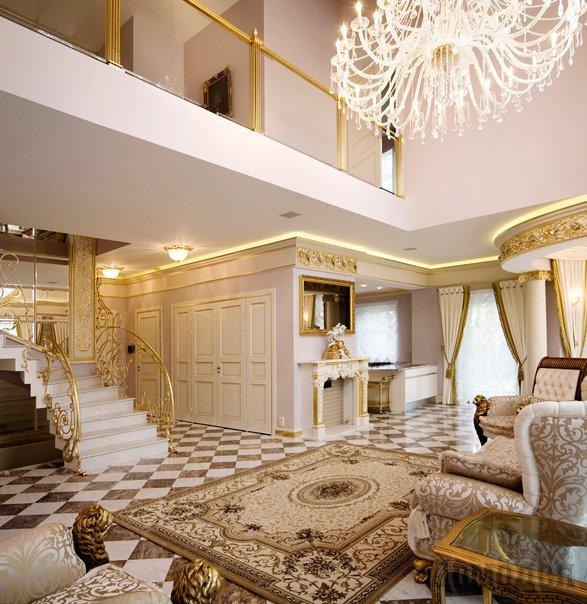 Интерьеры элитных домов фото