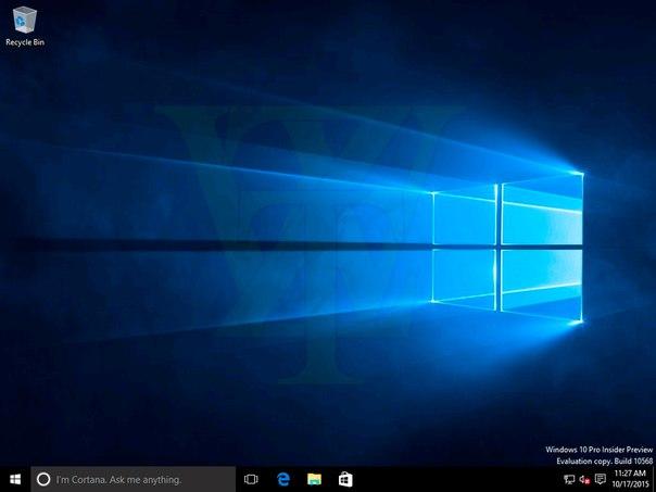 Утечка Windows 10 build 10568(не рекомендуется ставить на пк)