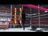 Реслинг WWE Ад в клетке 2014, Дин Эмброус против Сета Роллинса, обзор