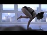 йога девушка утро 360