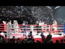 Представление на ринге Майклом Баффером Русского Витязя Александра Поветкина