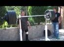 Кашпировский в 72 - Вес штанги 255 кг.