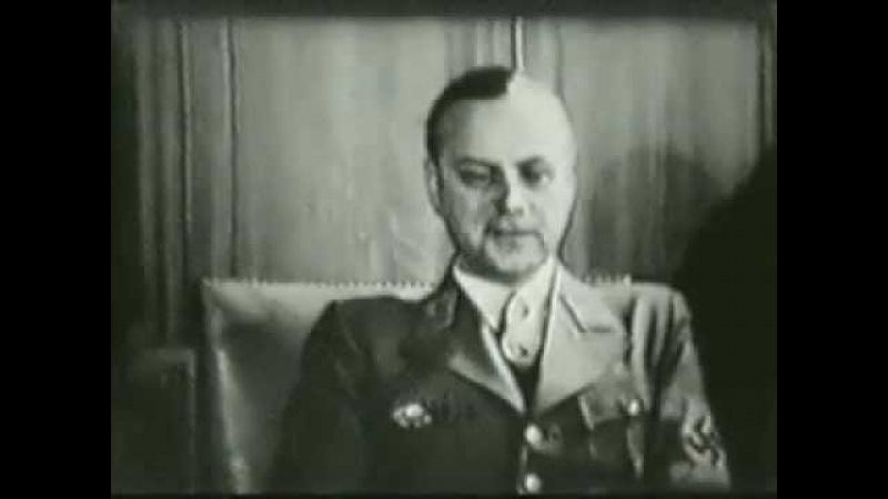 1943 - Alfred Rosenberg erzählt sein Leben