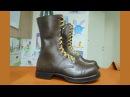 Making Corcoran Military Jump boots - Пошив американских прыжковых ботинок