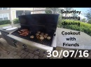 Cookout with Friends, Saturday morning cleaning - 30/07/16 - Huntley Brothers