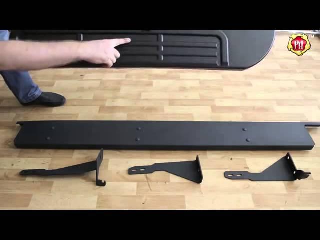 Пороги металлические комплект на Mitsubishi L200 2014 Belct.ru