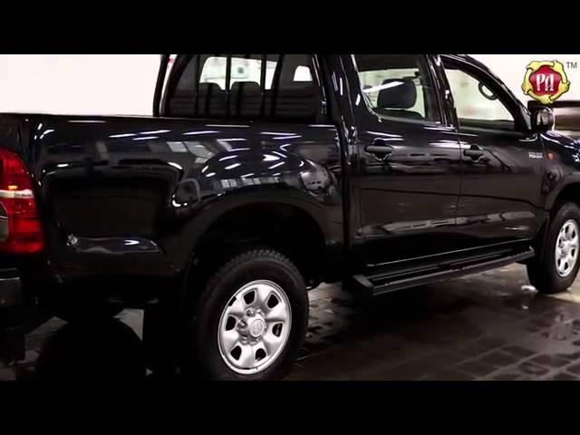 Пороги металлические комплект на Toyota Hilux 2011 Belct.ru