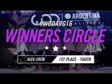 ALFA CREW  1st Place  Youth Division  World of Dance Argentina Qualifier  #WODARG16