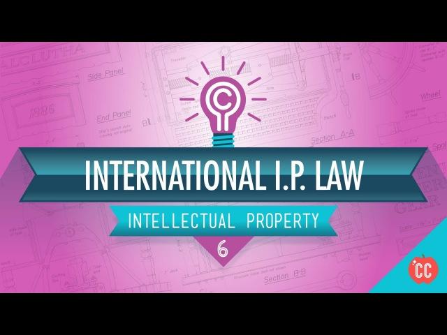 International IP Law Crash Course Intellectual Property 6