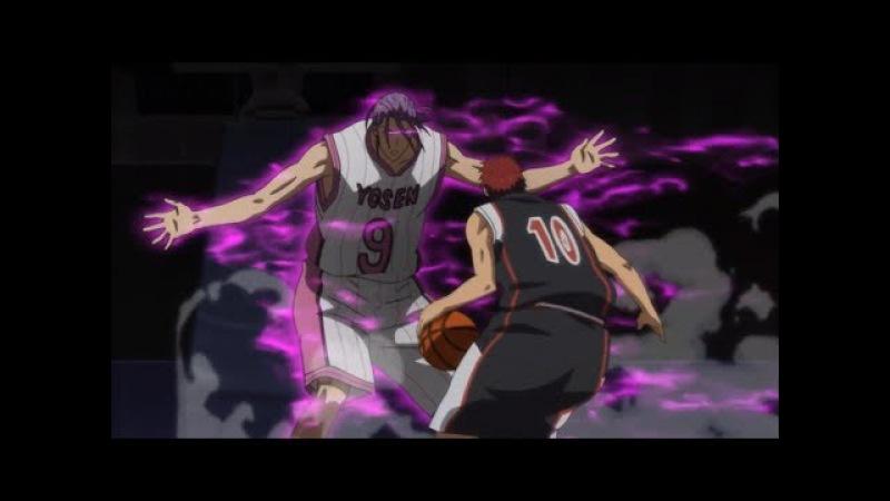 Kuroko no Basket AMV Kagami vs Murasakibara I Will Not Bow