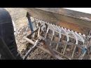 самодельная сеялка точного высева к мини трактору мтз