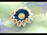 Необычный цветок канзаши/Новый лепесток/Kanzashi/New petal/Tutorial