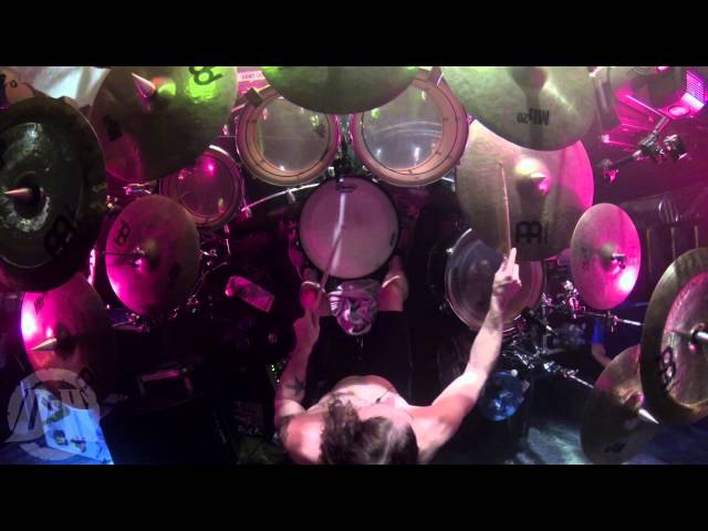 OVERKILL@Bring Me The Night-live in Katowice-Poland 2015 (Drum Cam)