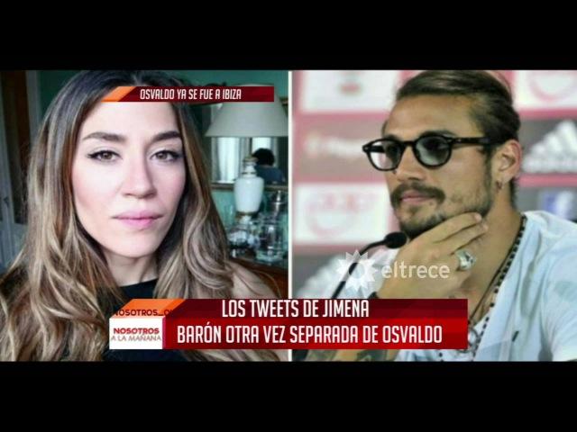 Jimena Barón se separó nuevamente de Daniel Osvaldo