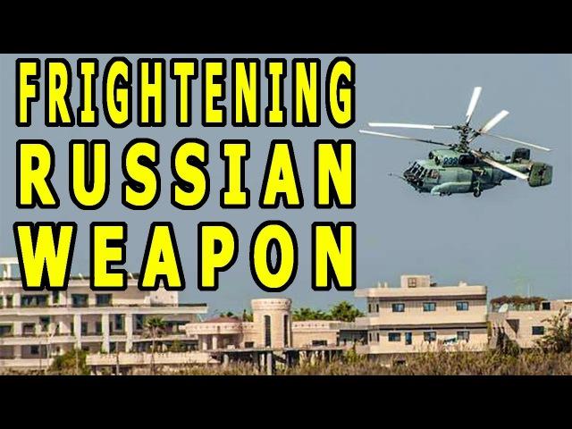 Сверхсекретный вертолет Ка-35 в Сирии - Ужасающее оружие Путина