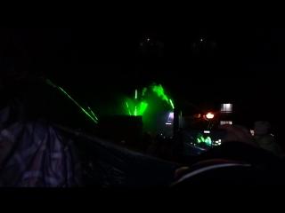 лазерное шоу на день города в Истре 11.06.2016