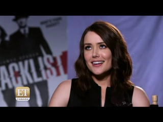 Megan boone and ryan eggold interview to et canada