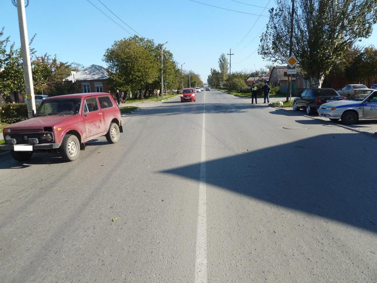 В Таганроге мужчина угодил под колеса «Нивы»
