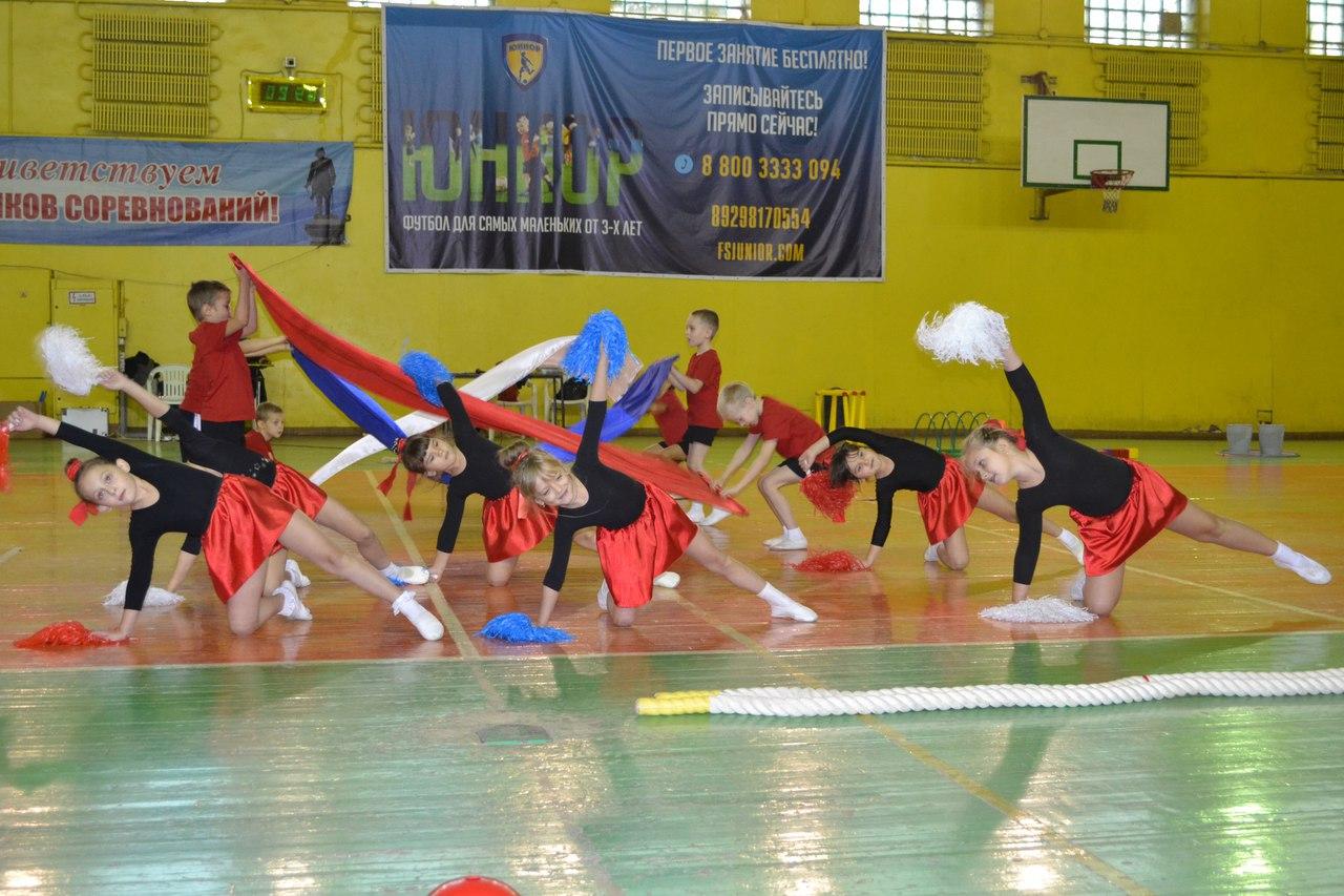 В Таганроге проходят «Веселые старты» для дошколят