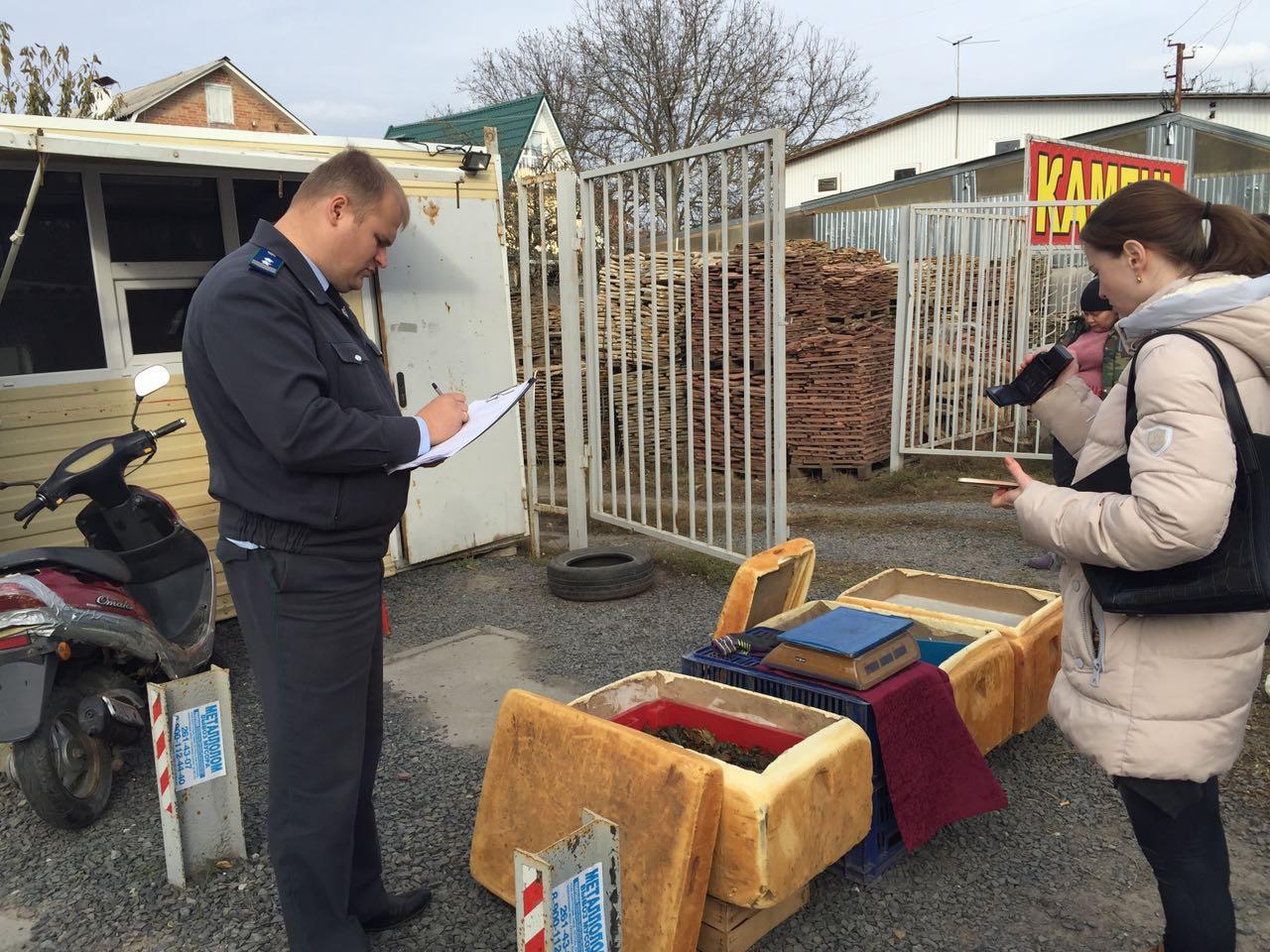 130 кг раков неизвестного происхождения уничтожено в Ростове