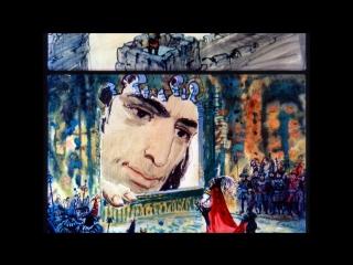 Гулливер в стране лилипутов Джонатан Свифт (диафильм озвученный) 1968 г.