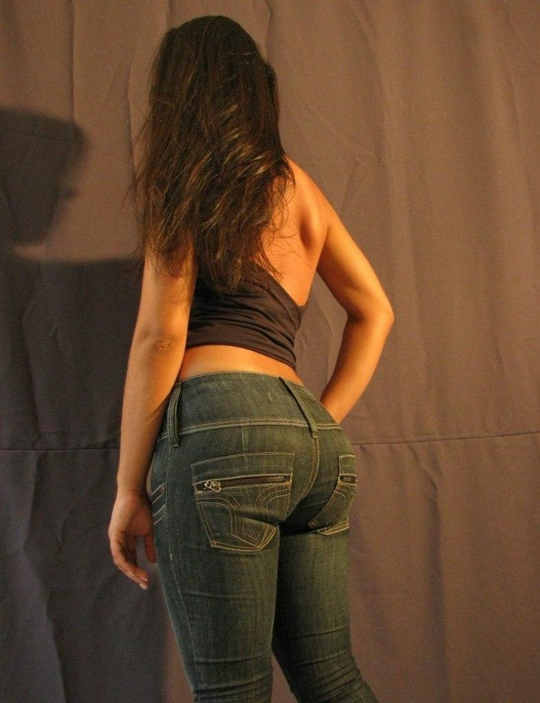 Pictures standing wall ass crack jobs