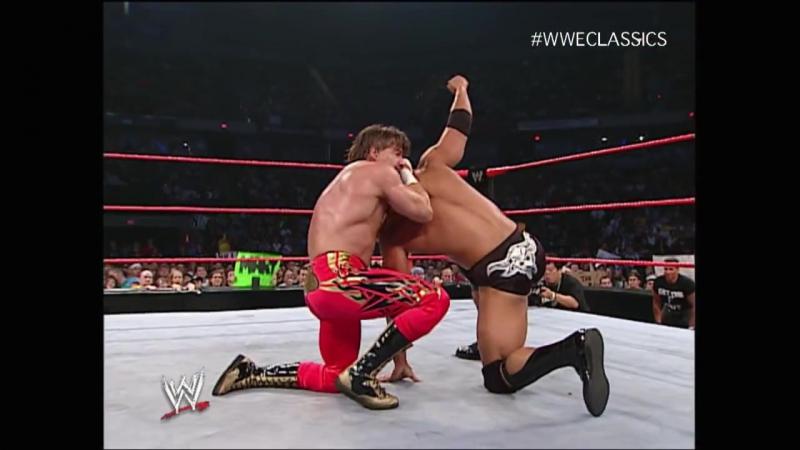 The Rock vs Eddie Guerrero, Raw (22.07.2002)