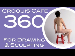 Croquis Cafe 360: Drawing & Sculpture Resource, Vivian #9