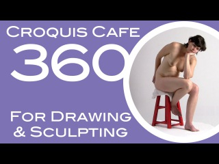 Croquis Cafe 360: Drawing & Sculpture Resource, Vivian #8