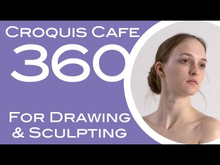 Croquis Cafe 360: Drawing & Sculpture Resource, Gabrielle #11