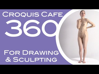 Croquis Cafe 360: Drawing & Sculpture Resource, Gabrielle #1