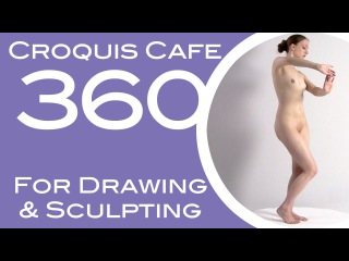 Croquis Cafe 360: Drawing & Sculpture Resource, Gabrielle #5