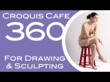 Croquis Cafe 360: Drawing & Sculpture Resource, Gabrielle #9