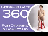 Croquis Cafe 360: Drawing & Sculpture Resource, Gabrielle #8