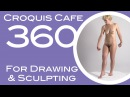 Croquis Cafe 360: Drawing & Sculpture Resource, Simone #11